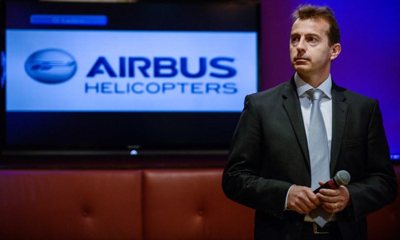 Prezes Airbus Helicopters - Guillaume Faury /Jakub Kamiński   /PAP