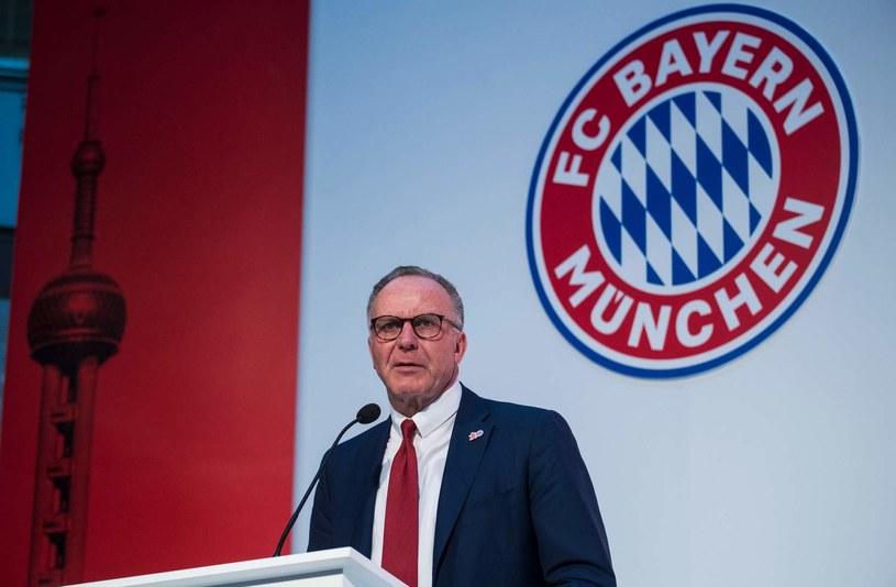 Prezes Bayernu Karl-Heinz Rummenigge /AFP