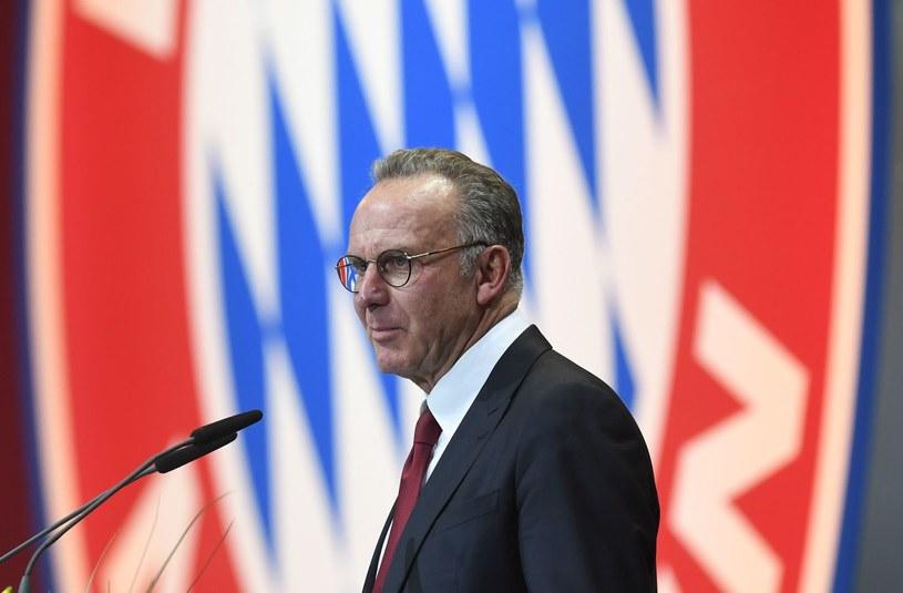 Prezes Bayernu Karl-Heinz Rummenigge /CHRISTOF STACHE /AFP