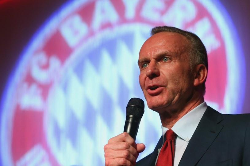 Prezes Bayernu Monachium Karl-Heinz Rummenigge /AFP