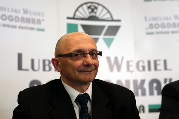 Prezes Bogdanki M.Taras Fot. Jakub Orzechowski /Agencja SE/East News