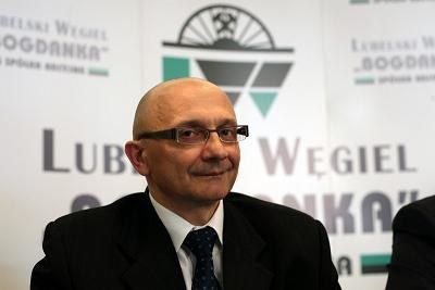 Prezes Bogdanki Mirosław Taras. Fot. JAKUB ORZECHOWSKI SE /Agencja SE/East News