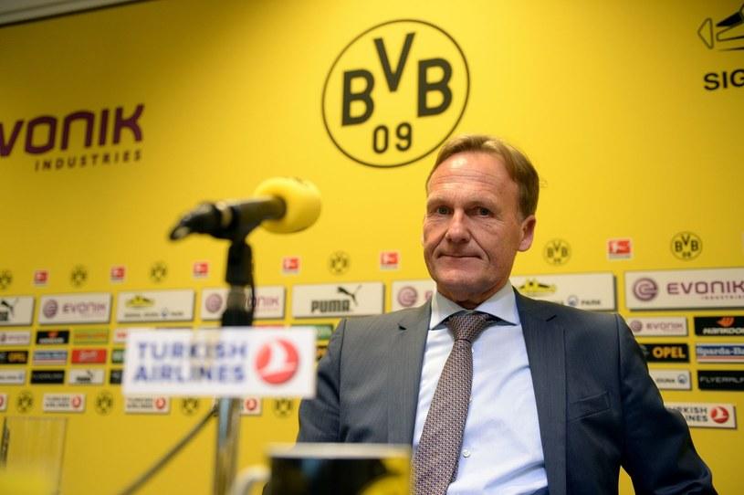 Prezes Borussii Dortmund Hans-Joachim Watzke /AFP
