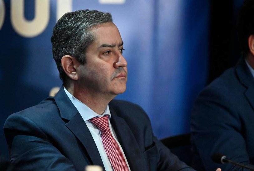 Prezes CBF Rogerio Caboclo /AFP