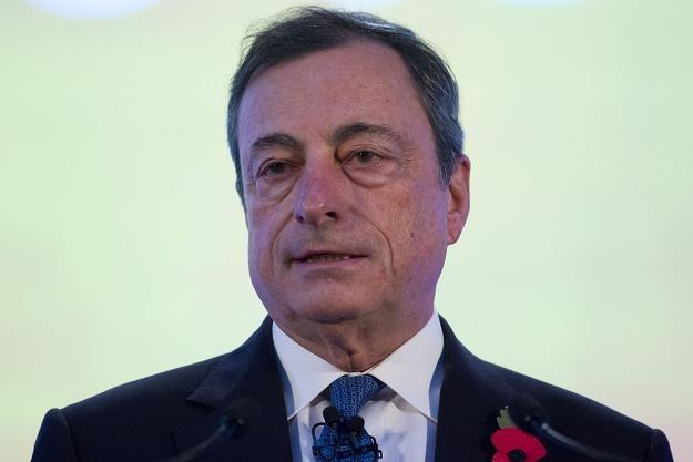 Prezes Draghi nie zaskoczył? /AFP