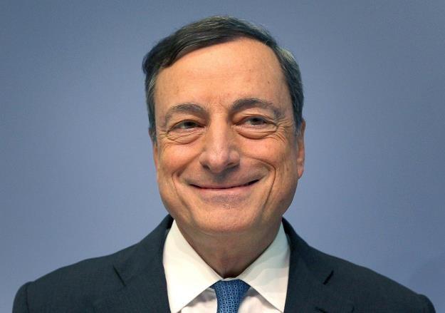 Prezes EBC Mario Draghi /AFP