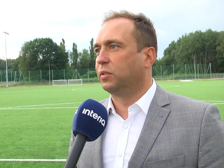 Prezes Ekstraklasy SA Marcin Animucki idzie na rękę klubom walczącym o awans do Ligi Europy /Zbigniew Czyż /INTERIA.PL