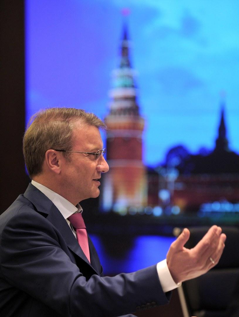 Prezes German Gref zapowiada gigantyczne zwolnienia /AFP