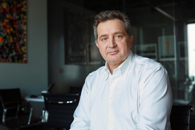 Prezes ING Banku Śląskiego Brunon Bartkiewicz /INTERIA.PL