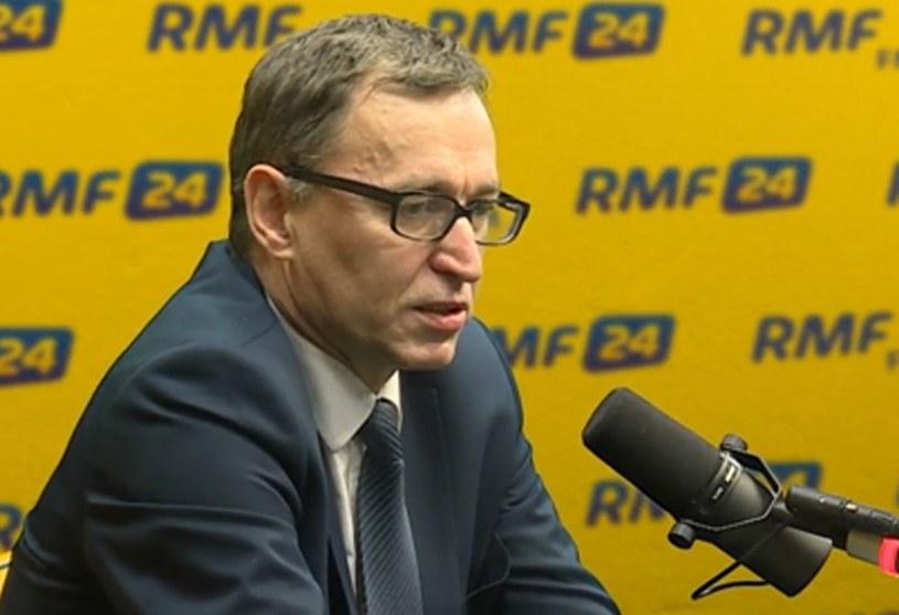 Prezes IPN Jarosław Szarek: Twarzami stanu wojennego byli generał Wojciech Jaruzelski i Czesław Kiszczak /RMF