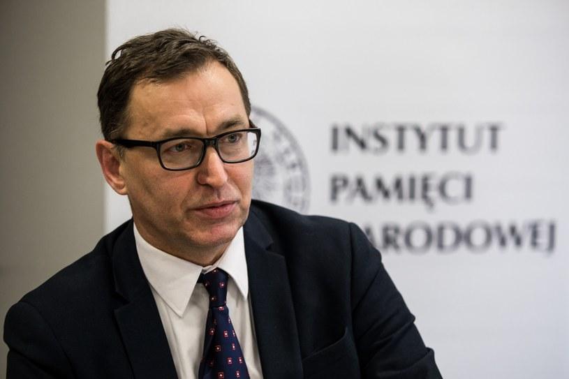 Prezes IPN Jarosław Szarek /Marek Kuwak /East News