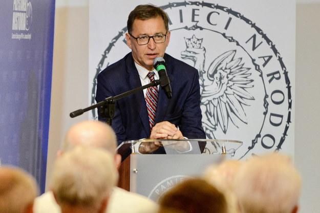 Prezes IPN Jarosław Szarek / Jakub Kamiński    /PAP