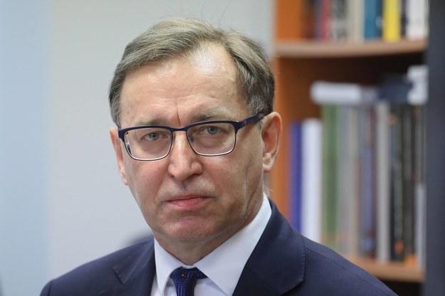 Prezes IPN Jarosław Szarek /Paweł Supernak /PAP