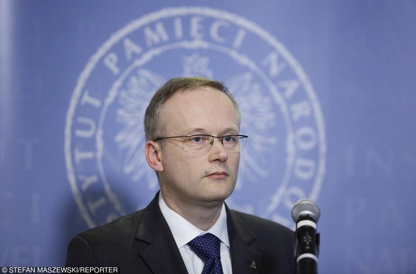 Prezes IPN Łukasz Kamiński /Stefan Maszewski /Reporter