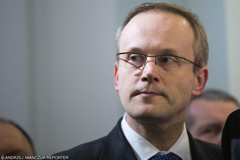 Prezes IPN Łukasz Kamiński /Andrzej Iwańczuk /Reporter