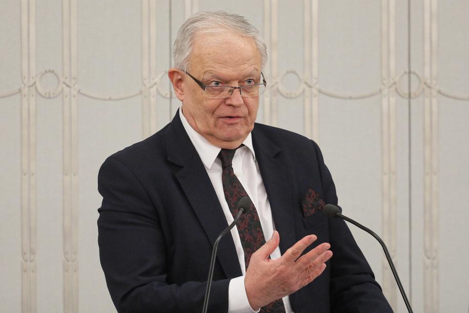 Prezes Izby Karnej Sądu Najwyższego sędzia Stanisław Zabłocki /Paweł Supernak /PAP