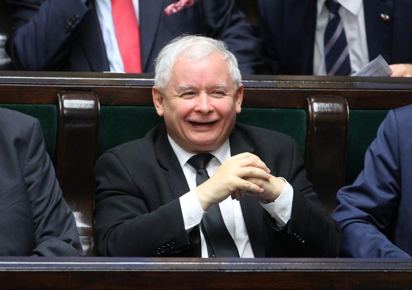 Prezes Jarosław Kaczyński /STANISLAW KOWALCZUK /East News
