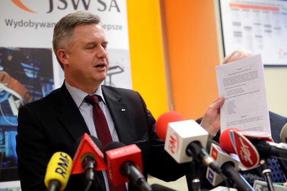 Prezes Jarosław Zagórowski /Marek Zimny /PAP