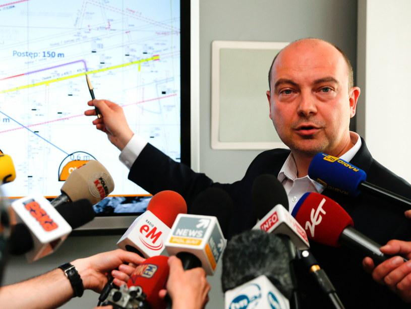 Prezes JSW Daniel Ozon / Andrzej Grygiel /PAP