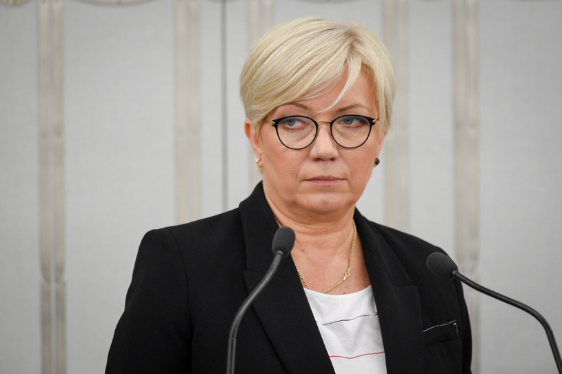 Prezes Julia Przyłębska: Zarzuty europejskich polityków wobec Trybunału Konstytucyjnego to daleko idące nadużycia /Jacek Domiński /Reporter