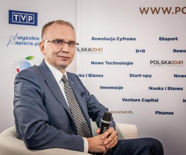 Prezes KGHM, Radosław Domagalski-Łabędzki specjalnie dla Interii