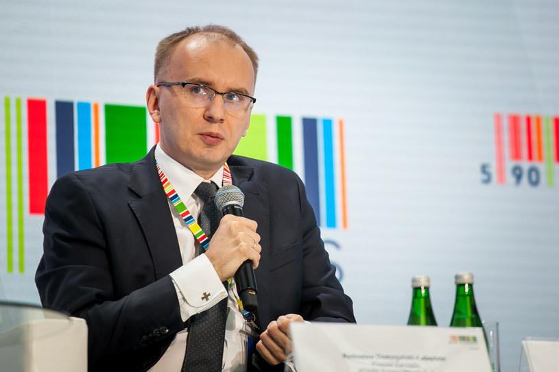 Prezes KGHM Radosław Domagalski-Łabędzki /Ireneusz Rek /INTERIA.PL