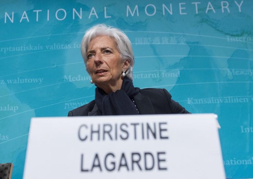 Prezes Lagarde /AFP