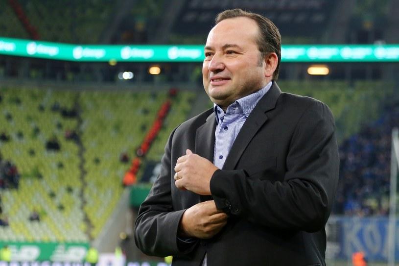 Prezes Lechii Adam Mandziara /Piotr Matusewicz /East News