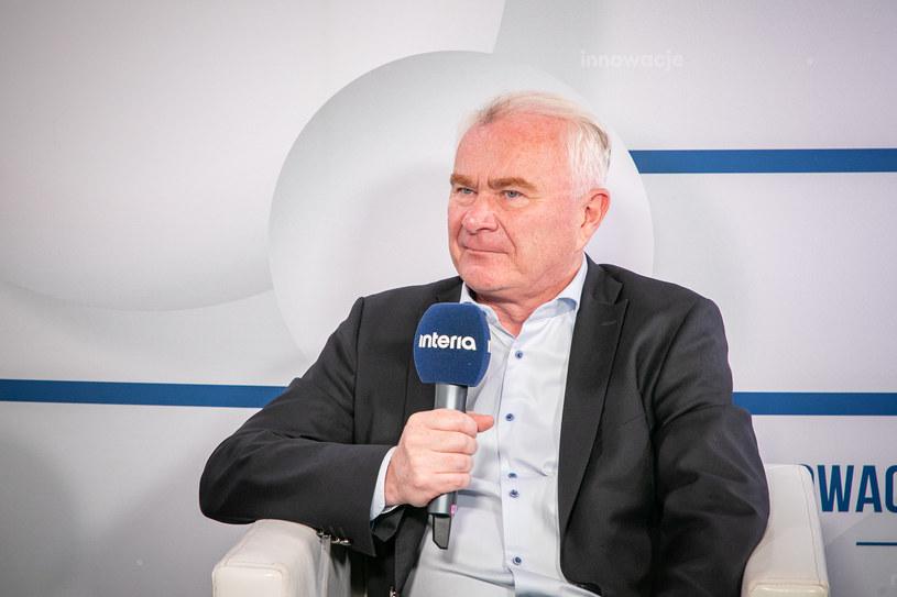 Prezes Maspeksu Krzysztof Pawiński /Ireneusz Rek /INTERIA.PL