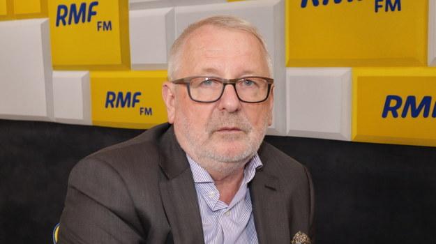 Prezes Naczelnej Rady Lekarskiej, prof. Andrzej Matyja /Piotr Szydłowski /RMF FM