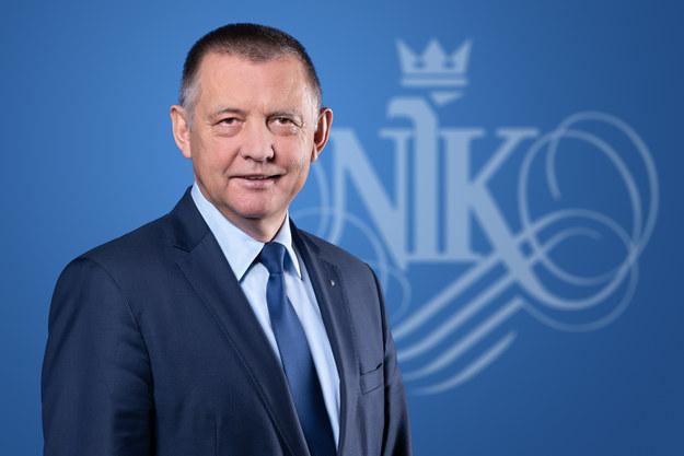 Prezes Najwyższej Izby Kontroli Marian Banaś /NIK /