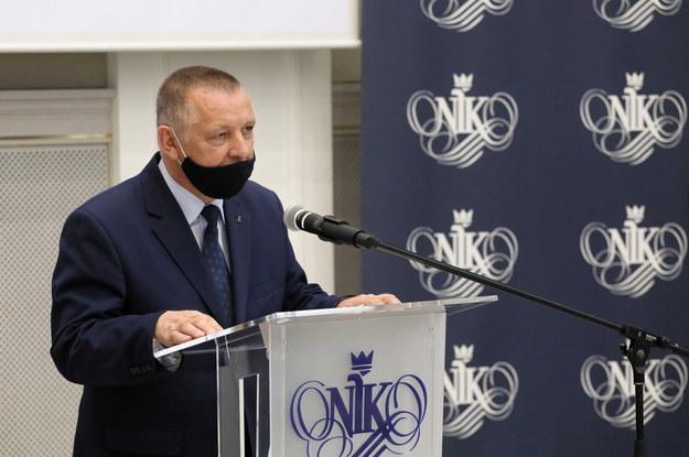 Prezes Najwyższej Izby Kontroli Marian Banaś /Paweł Supernak /PAP
