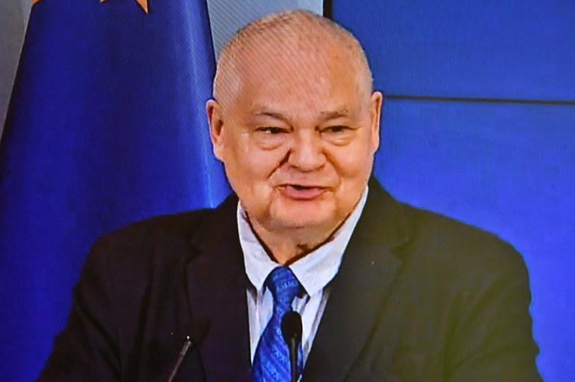 Prezes Narodowego Banku Polskiego Adam Glapiński /Andrzej Lange /PAP