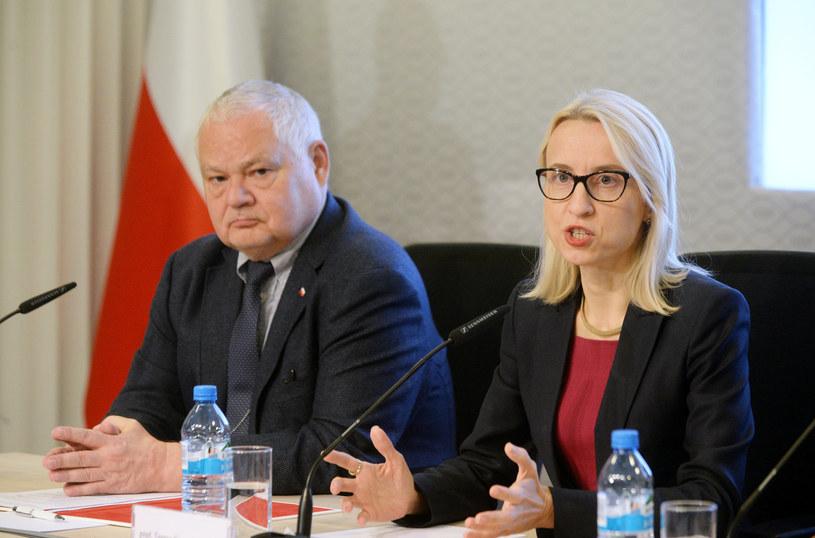 Prezes NBP Adam Glapiński i była minister finansów Teresa Czerwińska /Jan Bielecki /East News