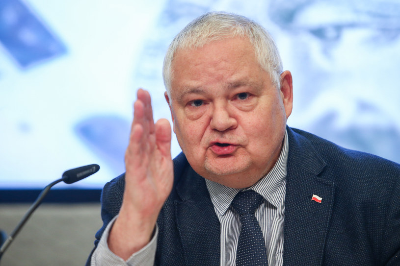 Prezes NBP Adam Glapiński /Tomasz Jastrzębowski /Reporter