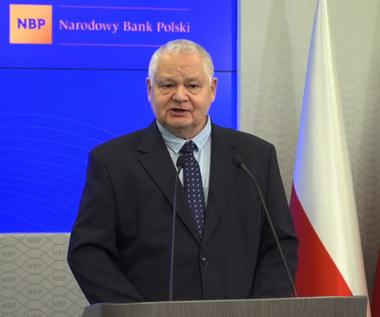 Prezes NBP Glapiński: Wszystko po stronie banków