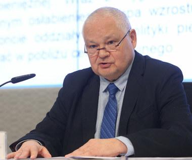Prezes NBP: Mamy do czynienia z ryzykiem prawnym z powodu kredytów we frankach