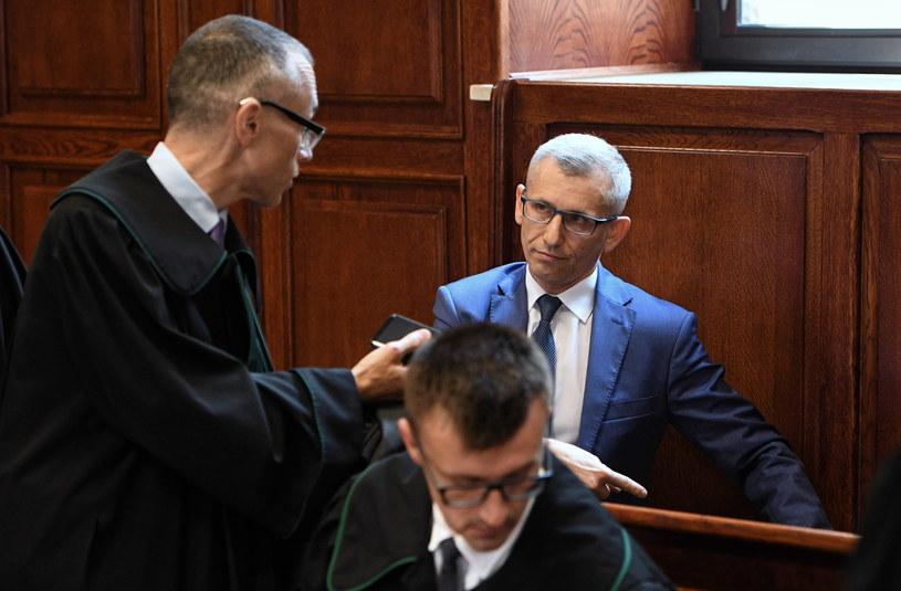 Prezes NIK Krzysztof Kwiatkowski na sali rozpraw w Sądzie Okręgowym w Warszawie /Radek Pietruszka /PAP