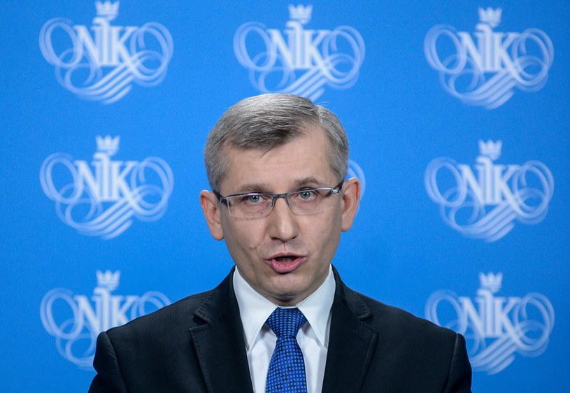 Prezes NIK Krzysztof Kwiatkowski /Jakub Kamiński   /PAP