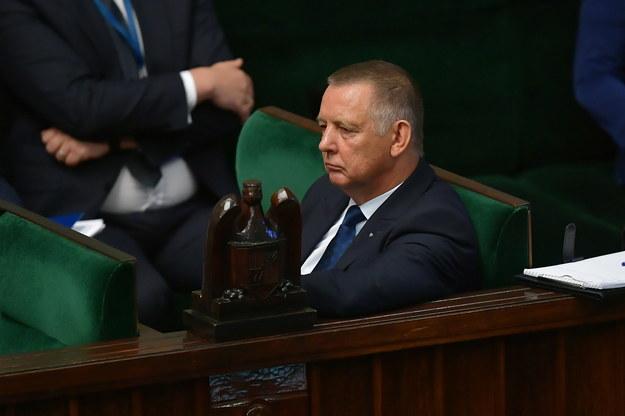 Prezes NIK Marian Banaś / Marcin Obara  /PAP