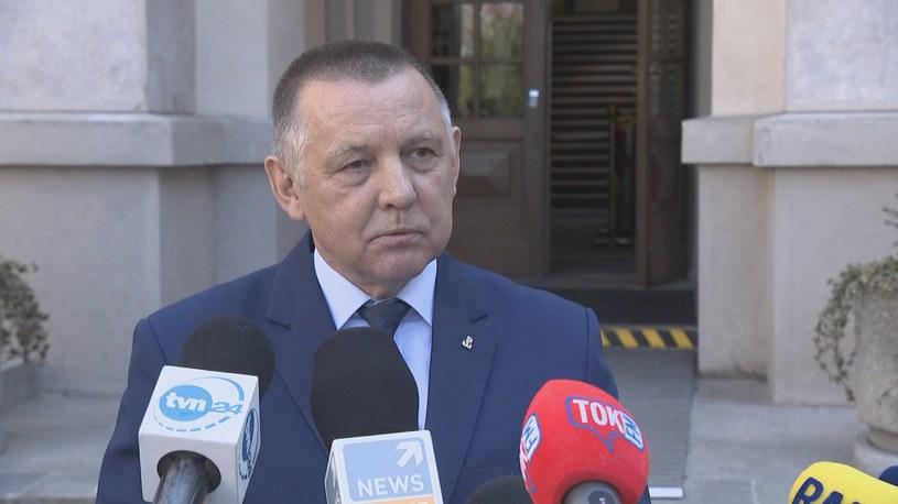 Prezes NIK Marian Banaś /Polsat News /Polsat News
