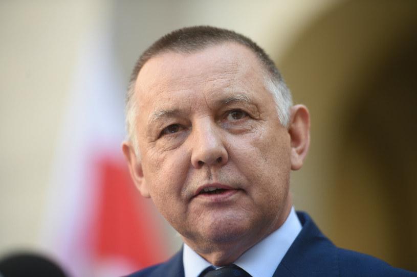 Prezes NIK Marian Banaś /Zbyszek Kaczmarek /Reporter