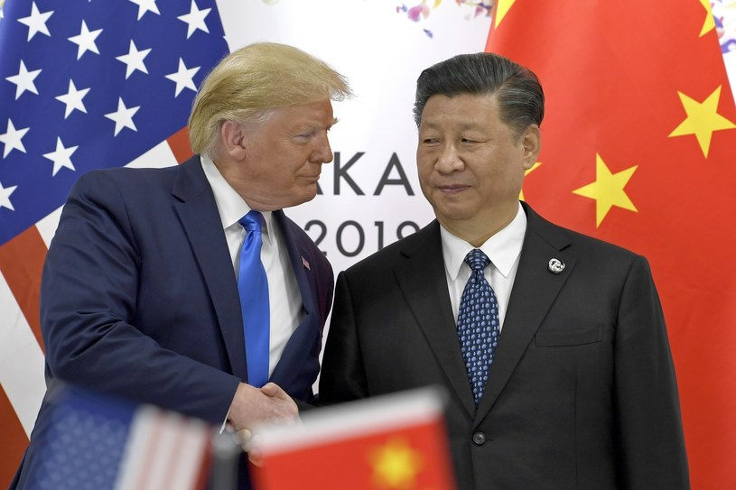 Prezes PFR: Wszystko wskazuje na to, że zimna wojna pomiędzy USA i Chinami właśnie się rozpoczęła. /Associated Press /East News