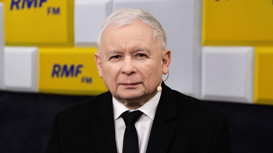 Prezes PiS Jarosław Kaczyński był Gościem Krzysztofa Ziemca w RMF FM /Michał Dukaczewski /RMF FM