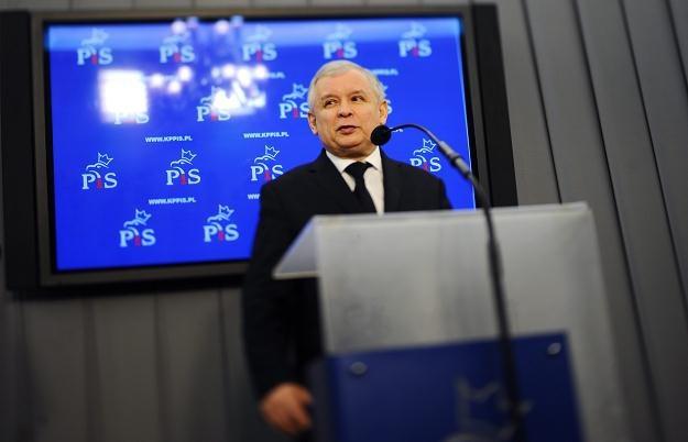 Prezes PiS Jarosław Kaczyński / fot. J. Turczyk /PAP