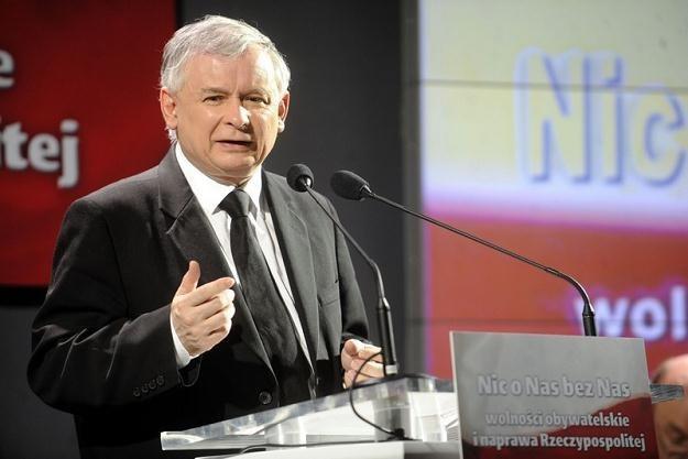 Prezes PiS Jarosław Kaczyński / fot. M. Rozbicki /Agencja SE/East News