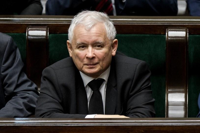 Prezes PiS Jarosław Kaczyński w Sejmie, zdjęcie ilustracyjne /Rafal Oleksiewicz /Reporter