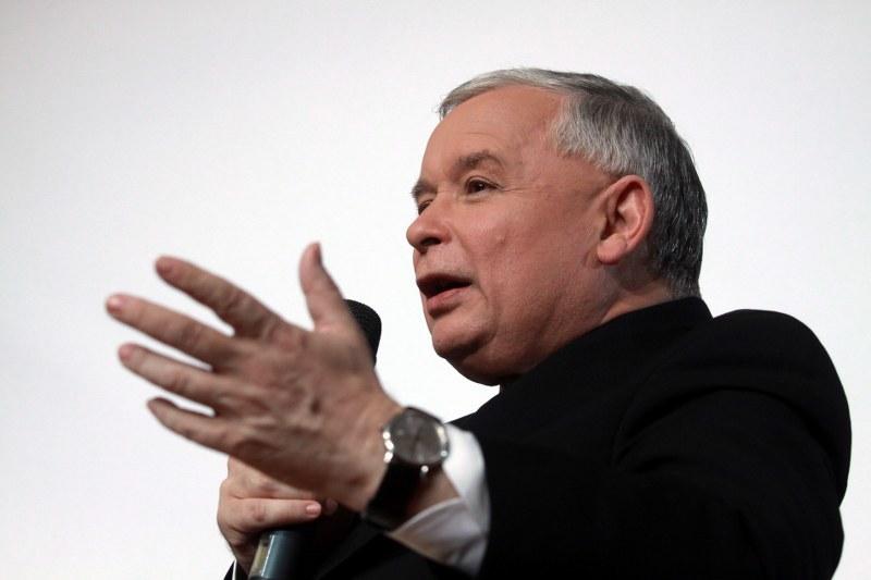Prezes PiS Jarosław Kaczyński /Tomasz Gzell (PAP) /