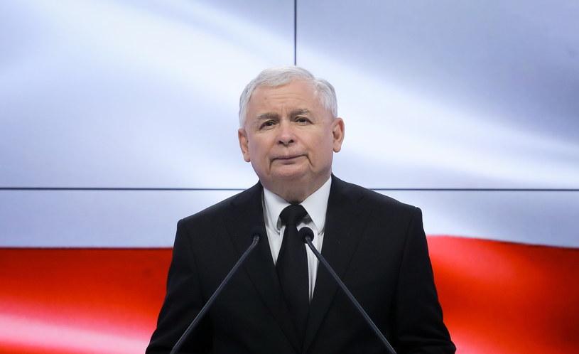 Prezes PiS Jarosław Kaczyński. /Paweł Supernak /PAP