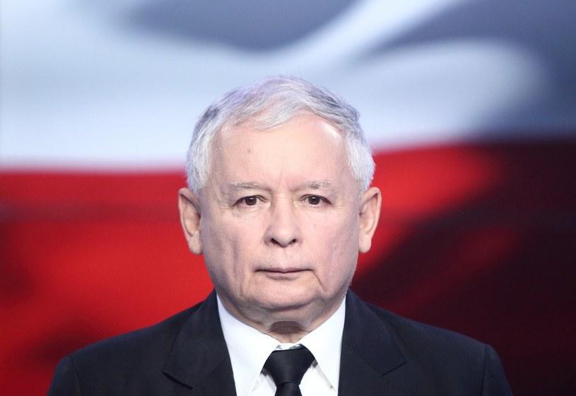 Prezes PiS Jarosław Kaczyński. /Stanisław Kowalczuk /East News